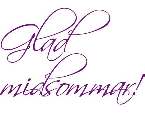 Glad midsommar | Lisas CI-blogg